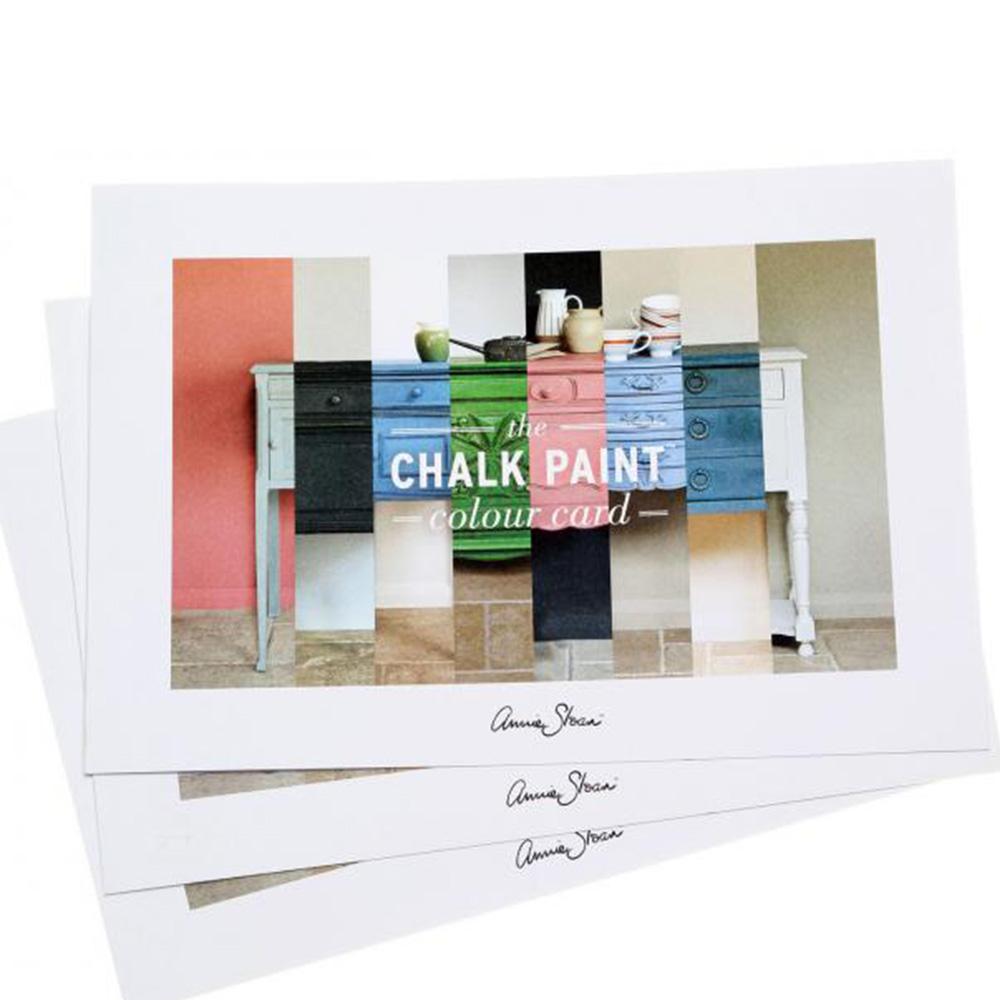 The Chalk Paint Colour Card
