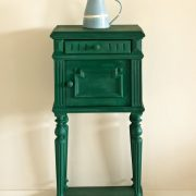amsterdam-green-side-table_-dulcet-in-old-white_-ticking-in-graphite-image-1