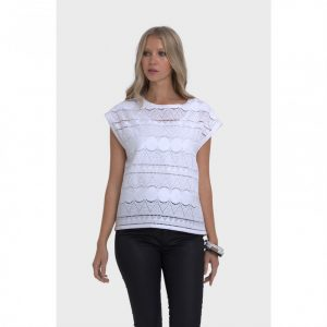 Broderie Top White index
